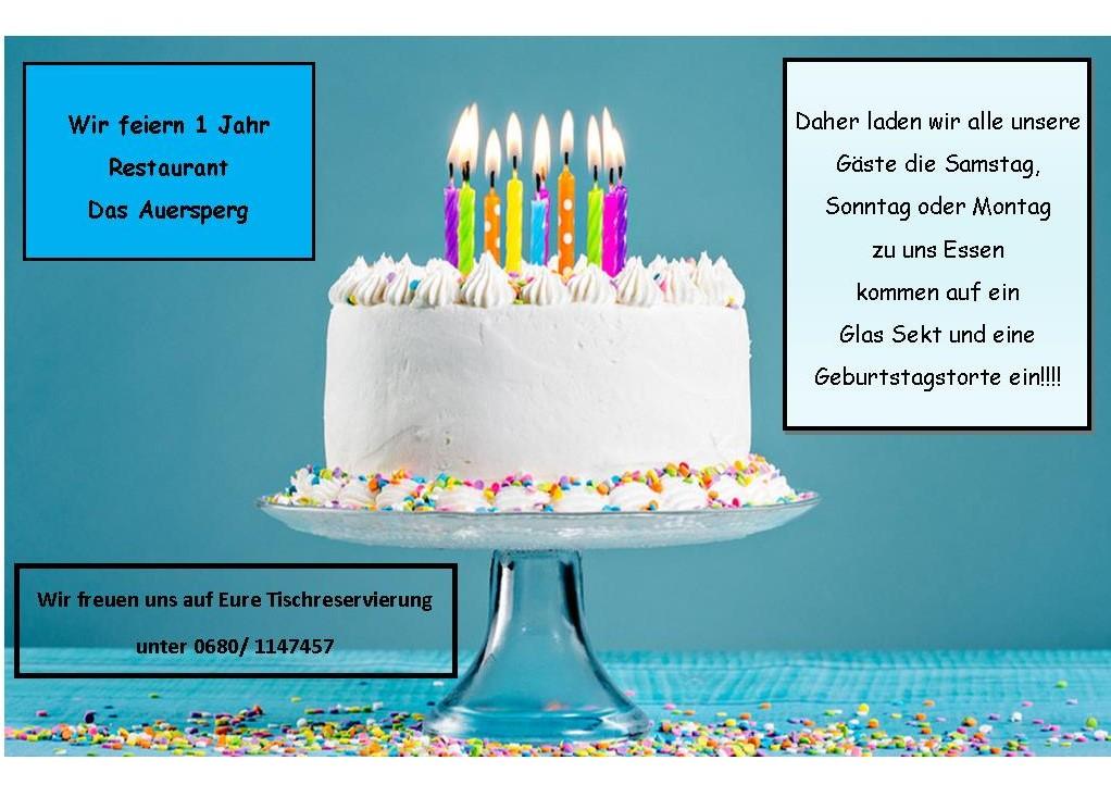 Flyer Geburtstag